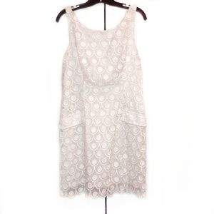 Tiana B White Lace Dress Sz 10